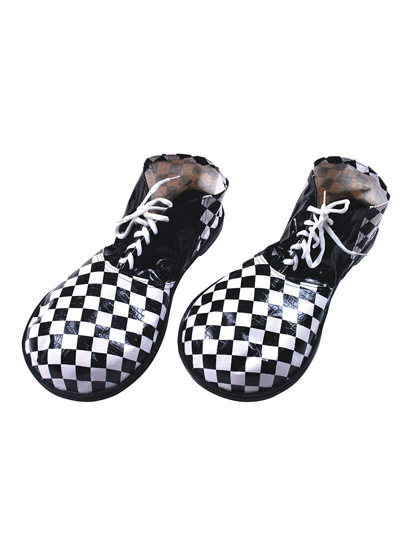 Black & White Adult Clown Shoes Fun World