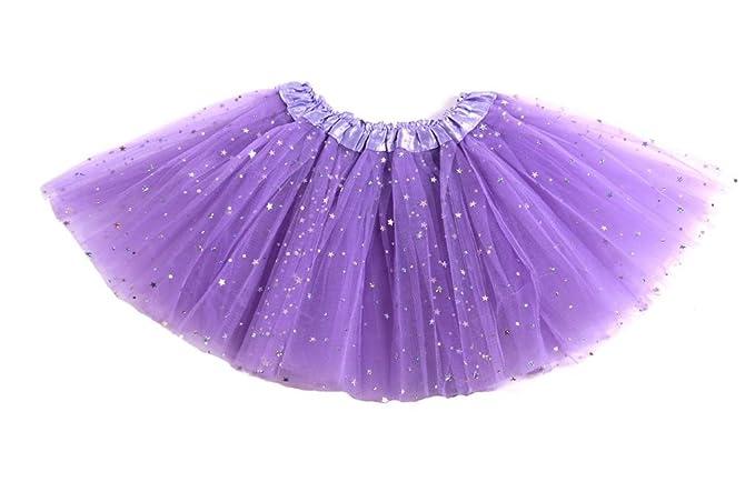 64645e2fb2 Falda de tul Lily para niñas - Tutú Enagua Falda de Ballet - en varios  colores - Talla única ...