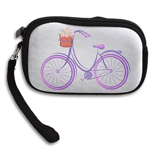 Zipper small wallet purple bicycle womens purse porte monnaie zipper small wallet purple bicycle womens purse porte monnaie clutch cards holder wallet purse business colourmoves