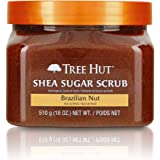 Tree Hut Shea Sugar Scrub Brazilian Nut, 18oz, Ultra Hydrating and Exfoliating Scrub for Nourishing Essential Body Care…