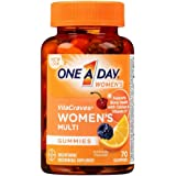 One-A-Day Women's VitaCraves Multivitamin Gummies ,70 Gummies, 3 Pack