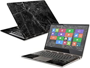 MightySkins Skin Compatible with Lenovo Yoga 920-13IKB - Black Marble | Protective, Durable, and Unique Vinyl Decal wrap Cover | Easy to Apply, Remove, and Change Styles | Made in The USA