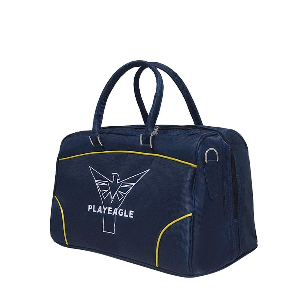 TAESOUW-Accessories Embroidered Design Golf Clothing Bag Outdoor Lightweight Fitness Gym Bag Durable Travel Sports Luggage for Women Men (Color : Blue, Size : 492530cm) by TAESOUW-Accessories