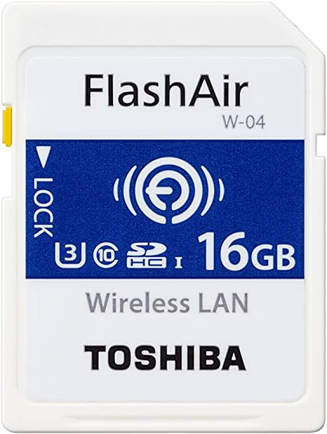 Amazon.com: Toshiba FlashAir 4ª generación WiFi SD SDHC/SDXC ...