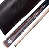 """(ONE YEAR GUARANTEE!!! ) Jian Ying 57"""" Handmade 1/2 Piece 2 pieces SNOOKER CUE And case.(SA12 Series)"""