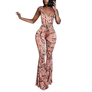 569931712cb09a Solike Combinaisons Femme Ete, Combinaison Femme Chic Imprimé Romper ...