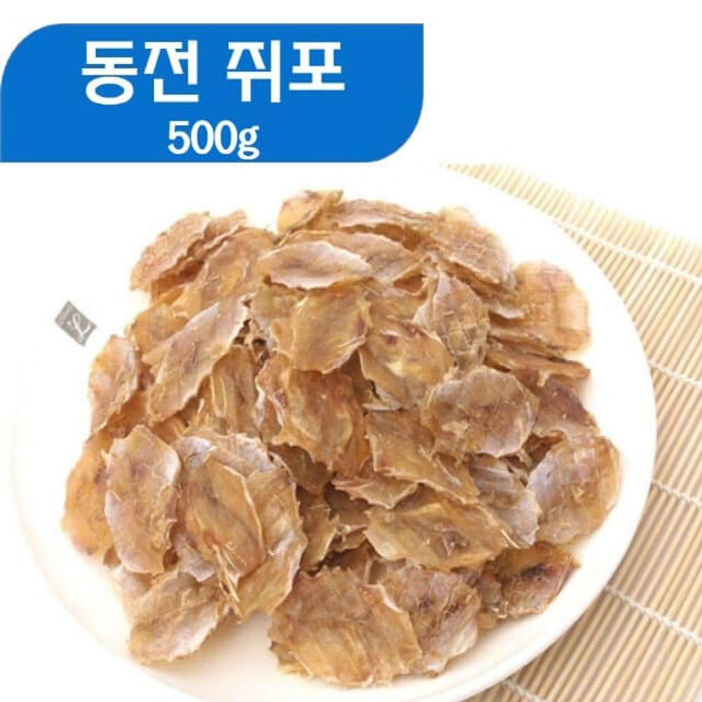 Coin Shape Dried Filefish 400g 쥐포 Vietnam