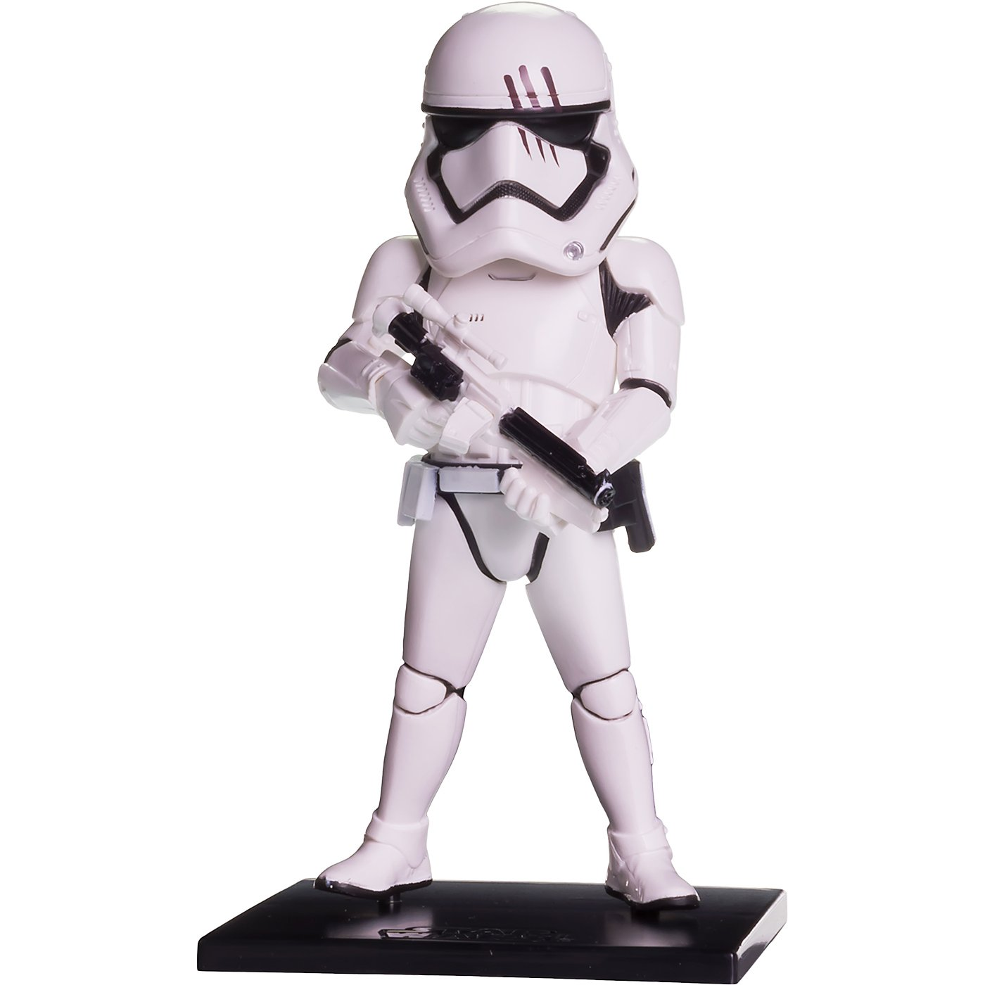 Banpresto First Order Stormtrooper 36707 : ~5.1 Star Wars x WCF Premium Mini Statue Figurine 1 Official Star Wars Trading Card Bundle BCC94R6D Battle Scene Ver.