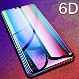 VIVO V11 Pro Screen Protector, Anti Blue Light [Eye Protect] 9H Hardness 3D Touch Compatible Shockproof Anti-Scratch, Tempered Glass for Vivo V11 Pro (6D Glass)