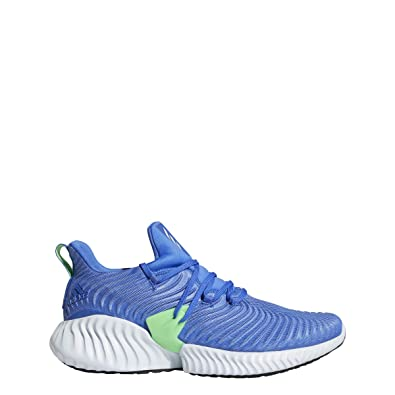 official photos 61221 0b888 adidas Running Mens Alphabounce Instinct Hi-Res BlueAero BlueShock Lime  6.5