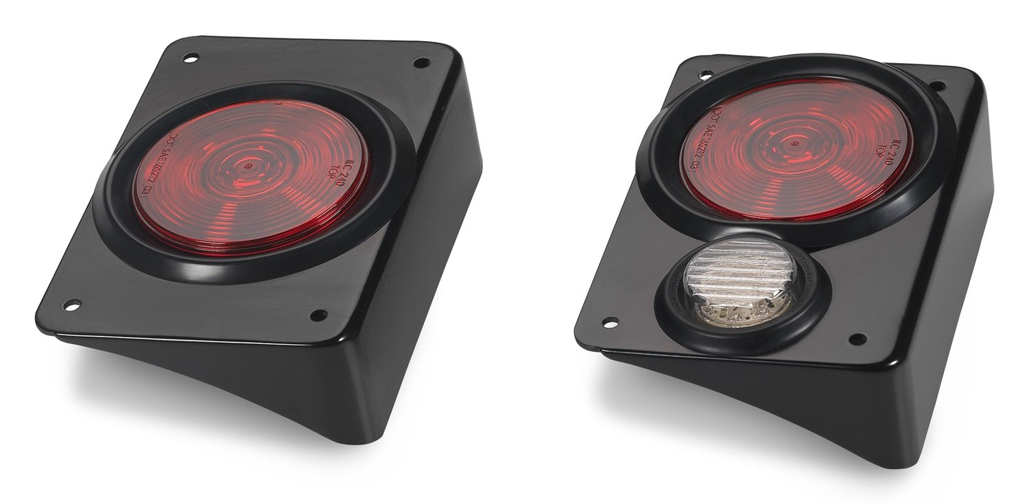 Amazoncom Warrior Products 2980 Steel Tail Lights with Stop Light