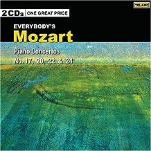 Mozart: Piano Concertos 17, 20, 22 & 24