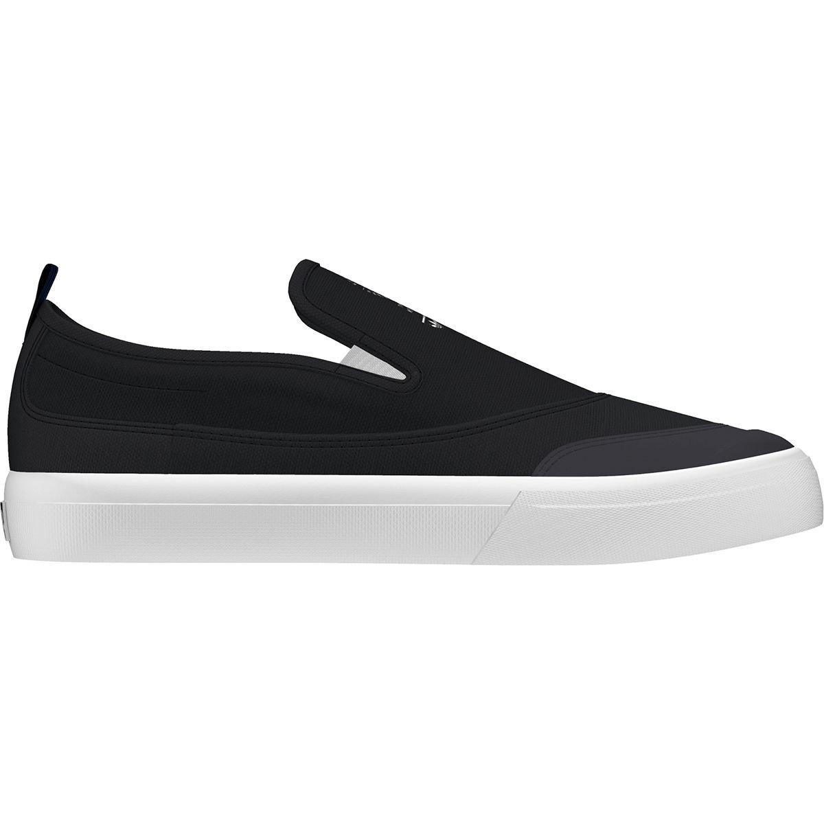 adidas Originals Men's Matchcourt Slip Skate Shoe 9 D(M) US Core Black/Footwear White/Gum