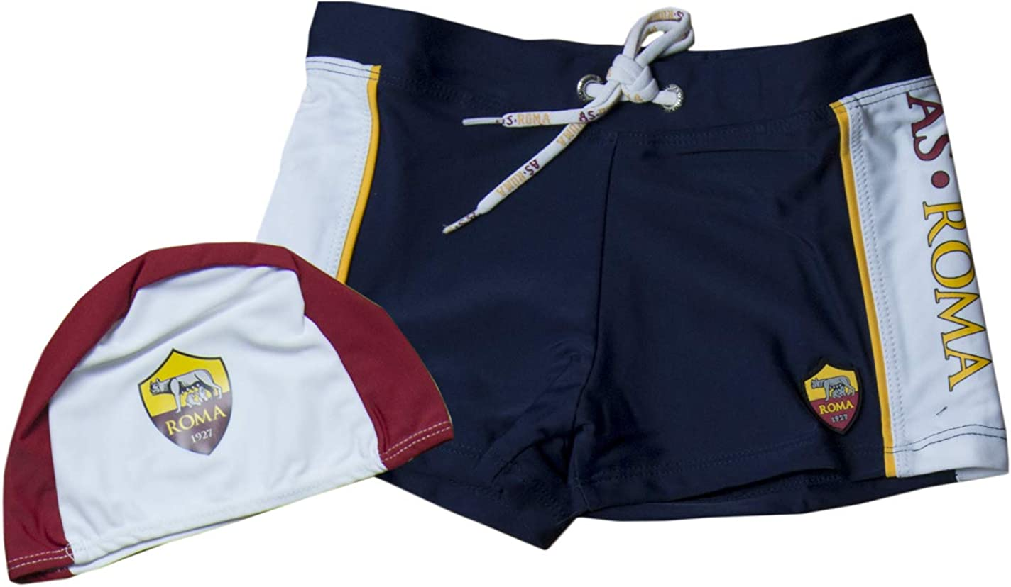 AS Roma Costume Parigamba Lycra Neonato//Bambino R13715-R13680
