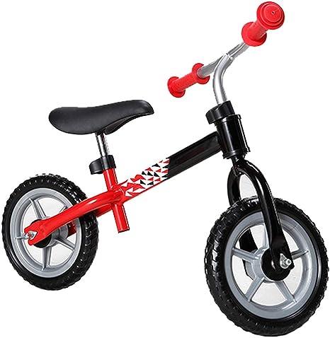 SJZX Bicicleta Sin Pedales para NiñOs Metal Asiento Ajustable ...
