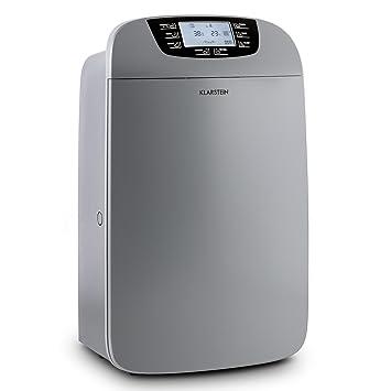 Klarstein Drybest 40 • Deshumidificador 2-en-1 • Purificador Aire • Deshumidificador eléctrico