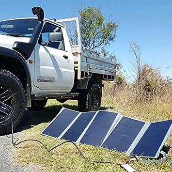 Amazon com : Dobinsons 4x4 80 Watt Folding Solar Panel Kit with MPPT
