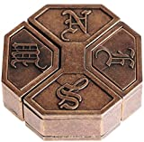 NEWS Cast Metal Brain Teaser Puzzle from Hanayama Puzzles of Japan _ Level 6