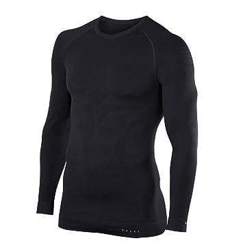 FALKE Ropa Interior máx cálido Manga Larga Camiseta Tight, otoño/Invierno, Hombre,