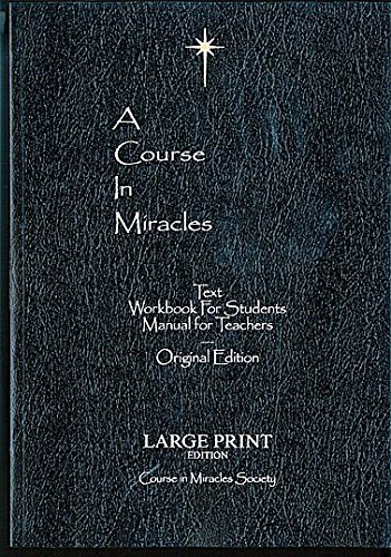 A Course in Miracles Original edition Large -