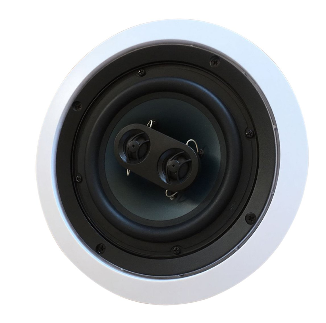 5252W Silver Ticket In-Wall In-Ceiling Speaker with Pivoting Tweeter (Dual 5.25 Inch in-wall Center Channel) Silver Ticket Products