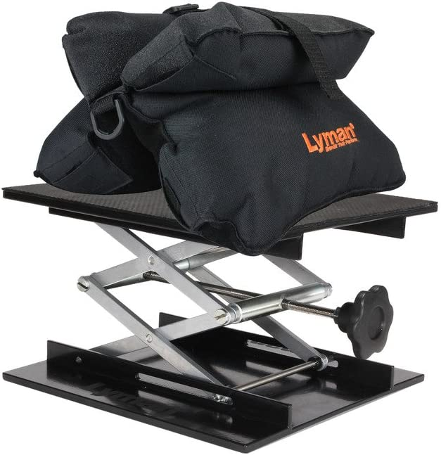 Lyman Match Shooting Bag & Bag Jack Combo Kit