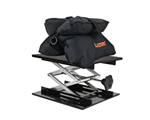 7. Lyman Match Shooting Bag & Bag Jack Combo Kit