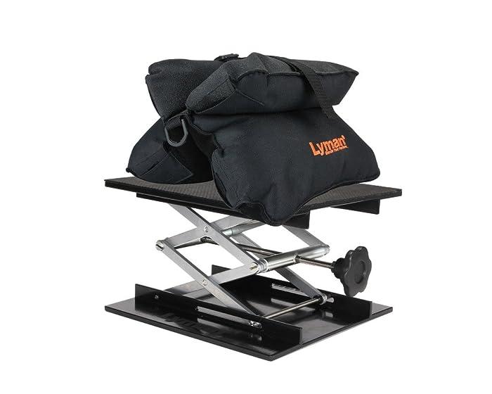 7. Lyman Match Shooting Bag & Bag Jack Combo Kit