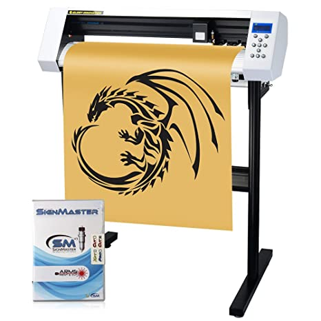 Amazon.com: MKCUTTY - Máquina de cortar letreros de vinilo ...