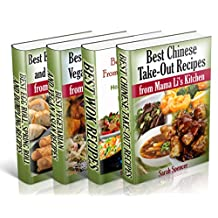 Best Asian Recipes from Mama Li's Kitchen BookSet - 4 books in 1: Chinese Take-Out Recipes (Vol 1); Wok (Vol 2); Asian Vegetarian and Vegan Recipes (Vol 3); Egg Roll, Spring Roll and Dumpling (Vol 4)