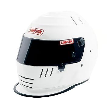 Simpson Racing Helmets >> Amazon Com Simpson Racing 1786581 Jr Speedway Shark Large White