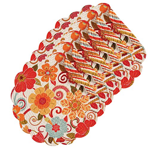 Quilted Placemat Set - Giselle 17