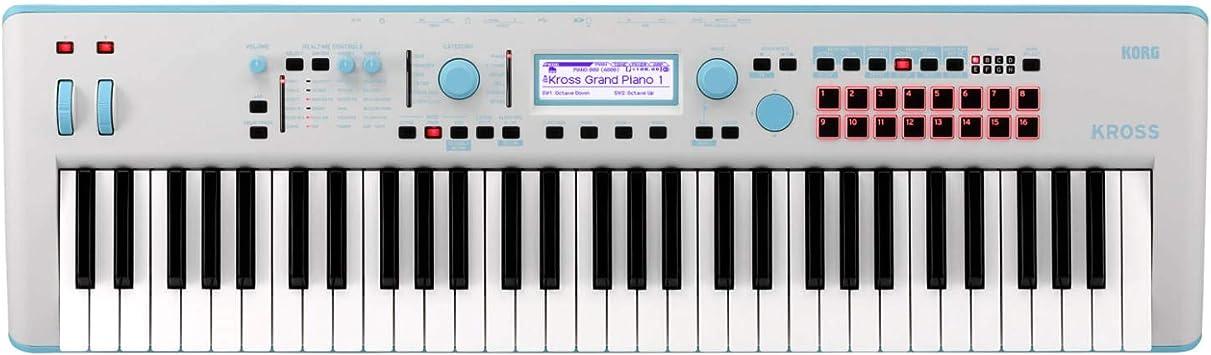 KORG Kross 2 61 Sintetizador Workstation (Azul de neón ...