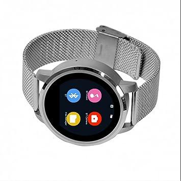 Smart Watch Mujer Reloj Inteligente Reloj Deportivo con Pedómetro,Monitor de Sueño,Cámara Remota