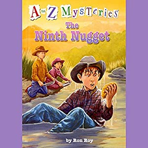 A to Z Mysteries: The Ninth Nugget Audiobook