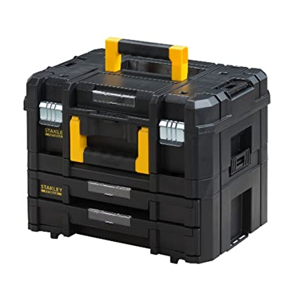 Stanley FatMax - TSTAK Combo Large toolbox incl  box with 2 drawers