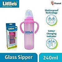 Little's Glass Sipper (Pink)