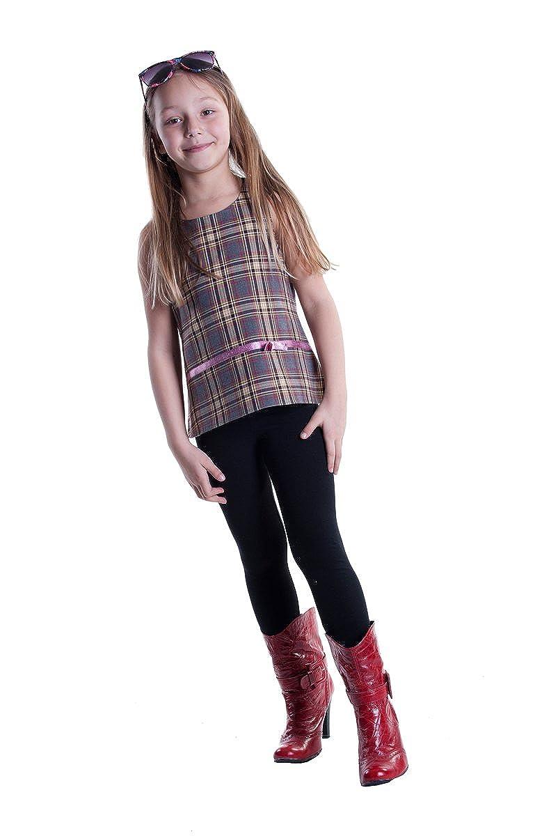 Girls Full Length Leggings Standard Or Winter Thick
