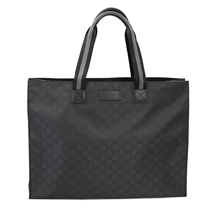 8b31aa5234d7 Gucci Men s Black Nylon Tote Bag 449176 G1xhn  Amazon.ca  Clothing    Accessories