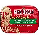 King Oscar Finest Norwegian Brisling Sardines in Olive Oil, 3.75 oz