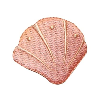 Amazon Id 0382b Pink Clam Shell Dcor Patch Tropical Beach