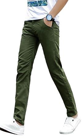 52c0794216a1f2 ADCRAS (アドクラス) メンズ スキニー パンツ チノパン タイト ズボン 無地 カラー 種類有り (30