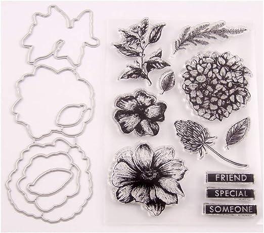 Flower Cutting Dies Stencil DIY Craft Scrapbooking Paper Card Embossing Decor