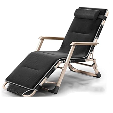 Sun Loungers Patio Zero Gravity Chairs Heavy Duty Recliner Folding Pool W//Holder