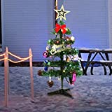 Christmas Tree 50CM/20Inch Artificial Christmas Tree Decoration with Multicolored LED Lights for Christmas