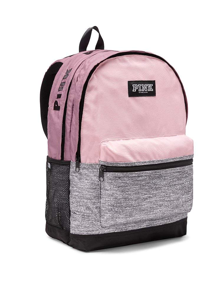 Victoria's Secret PINK Campus School Backpack, Chalk Rose/Gray Marl by Victoria's Secret