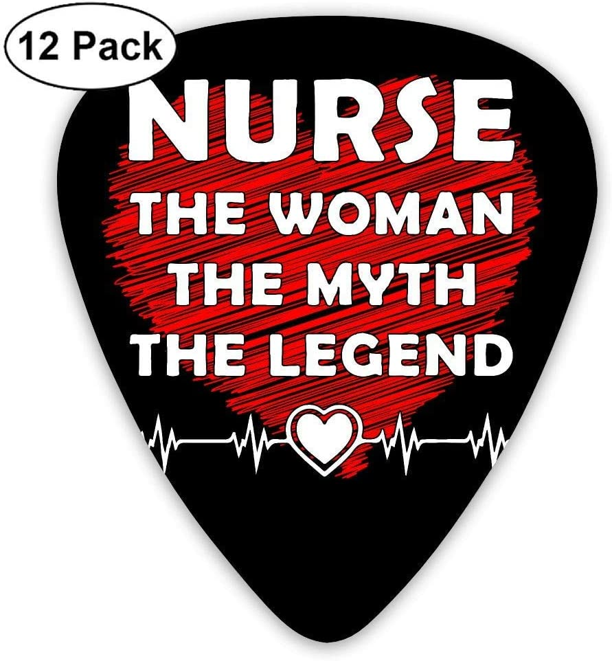 Nurse The Woman The Myth The Legend 351 Shape Classic Picks 12 Pack For Electric Guitar Acoustic Mandolin Bass: Amazon.es: Instrumentos musicales