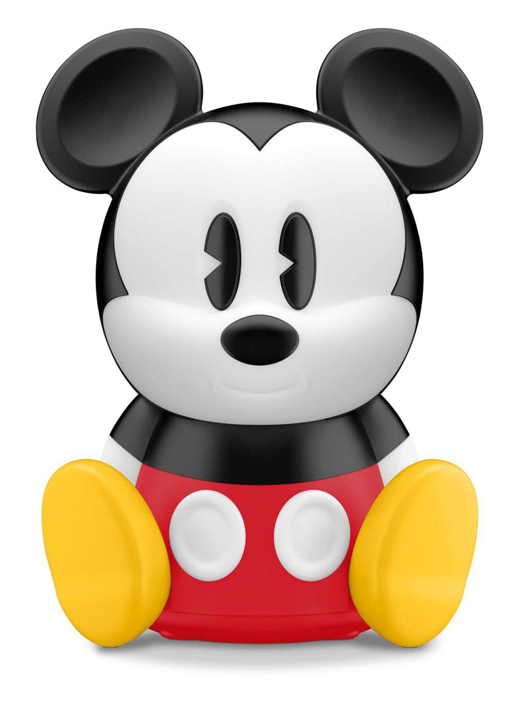Philips Disney Sleep Time Mickey Children's Night Light and Wake up Light with Integrated LED, 1 x 2 W - Black/Red