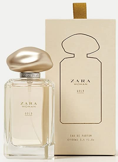 Amazoncom Zara Woman Rose Gold Eau De Parfum Edp Fragrance