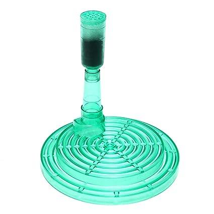 ChaRLes Agua bioquímica oxígeno esponja filtro bomba aire conducido mini acuario pecera aire conducido